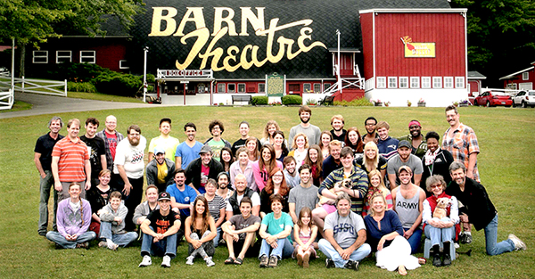 Barn Theatre Family 2014