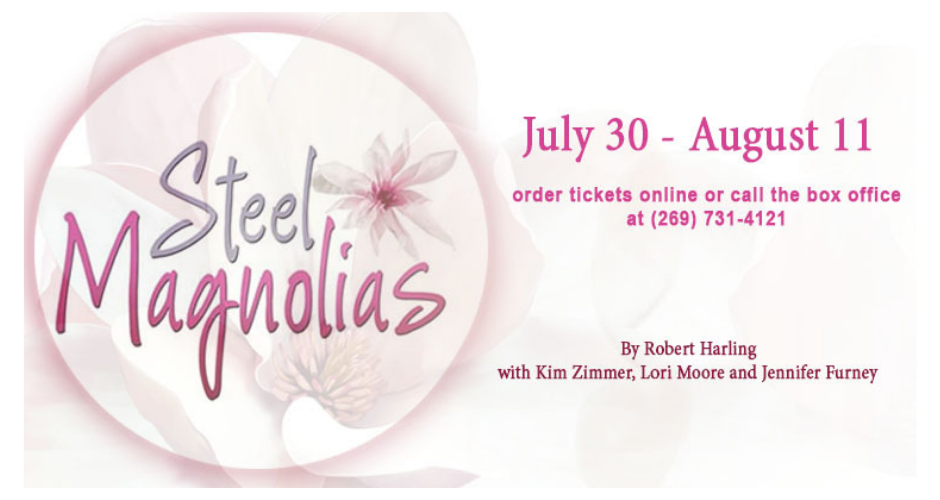 Steel Magnolias with Kim Zimmer at the Barn Theatre August 2019