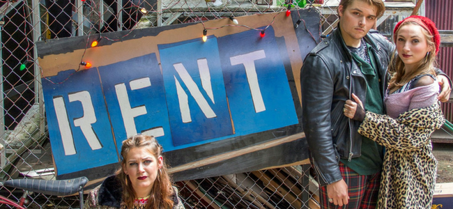 RENT Takes the Stage August 22 – Sept 3