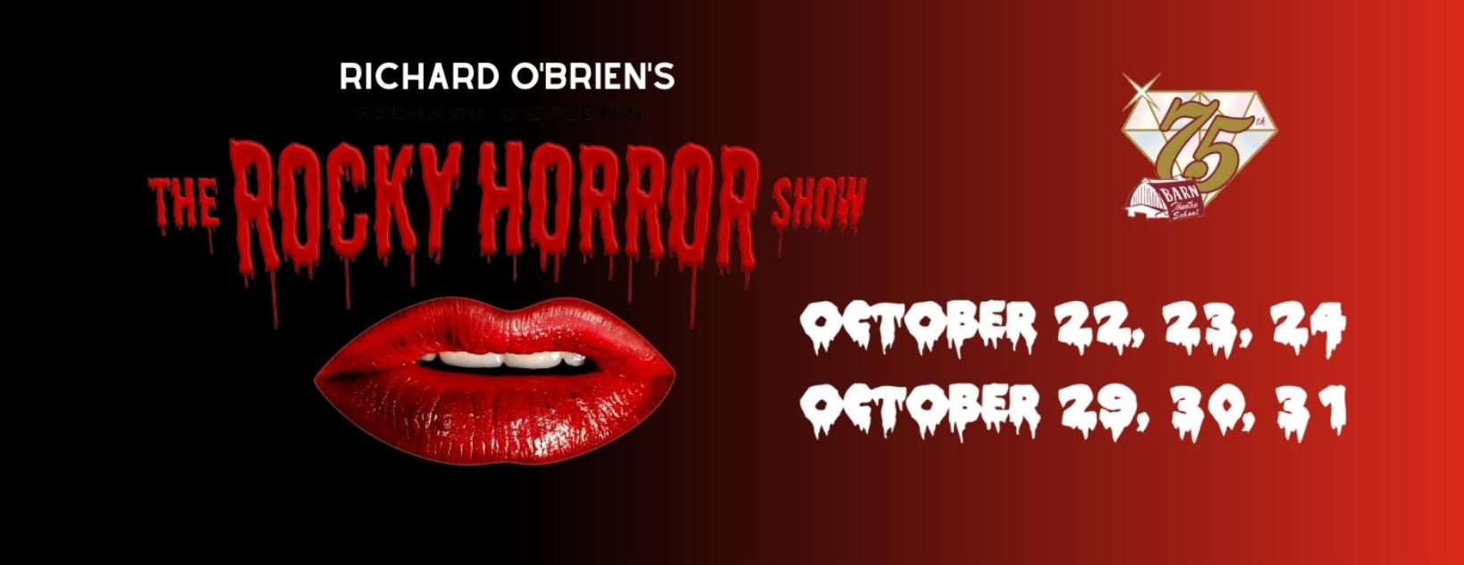 Barn Rocky Horror 2021 Show Web Slider