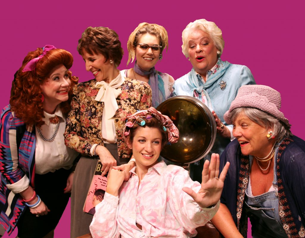 Steel Magnolias Cast at the Barn Theatre- 2019 production