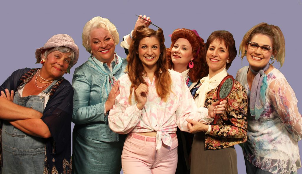 Announcing Steel Magnolias Guest Starring Kim Zimmer On Stage