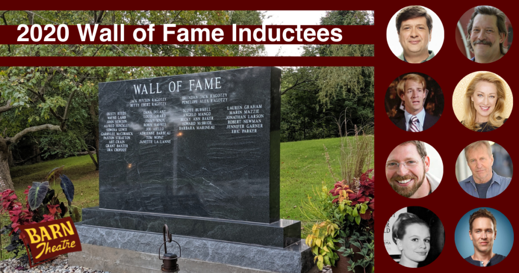 Barn Theatre Celebrates Eight New 2020 Wall of Fame Inductees