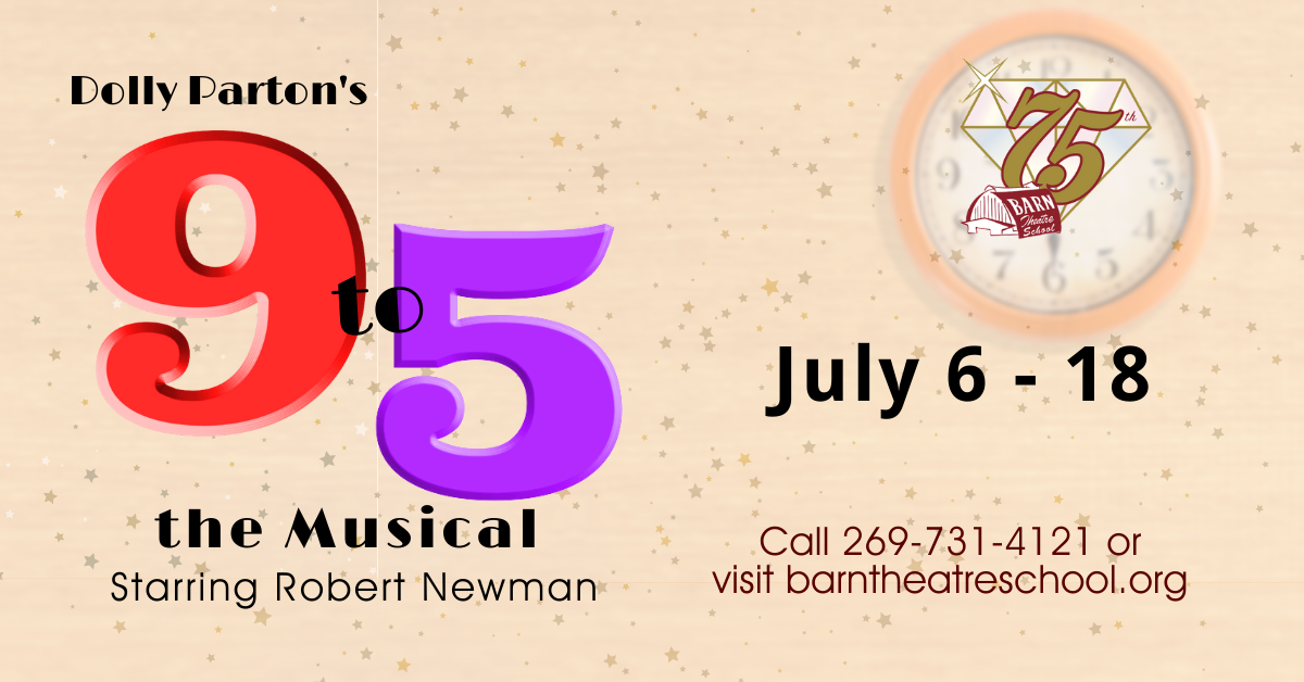 Dolly Parton's 9 to 5: THE MUSICAL at the Barn Theatre July 6 through 18 2021 image