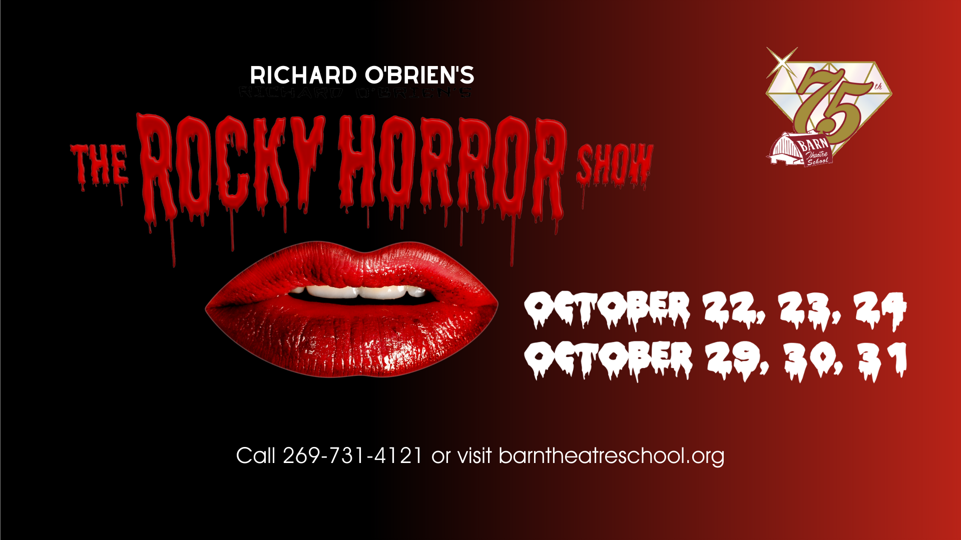 The Rocky Horror Show at the Barn Theatre from October 22 through 31, 2021 image