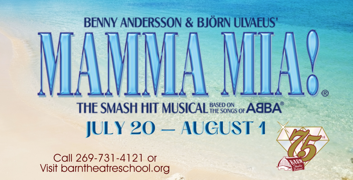 MAMMA MIA! at the Barn Theatre from July 20 through August 1, 2021 image