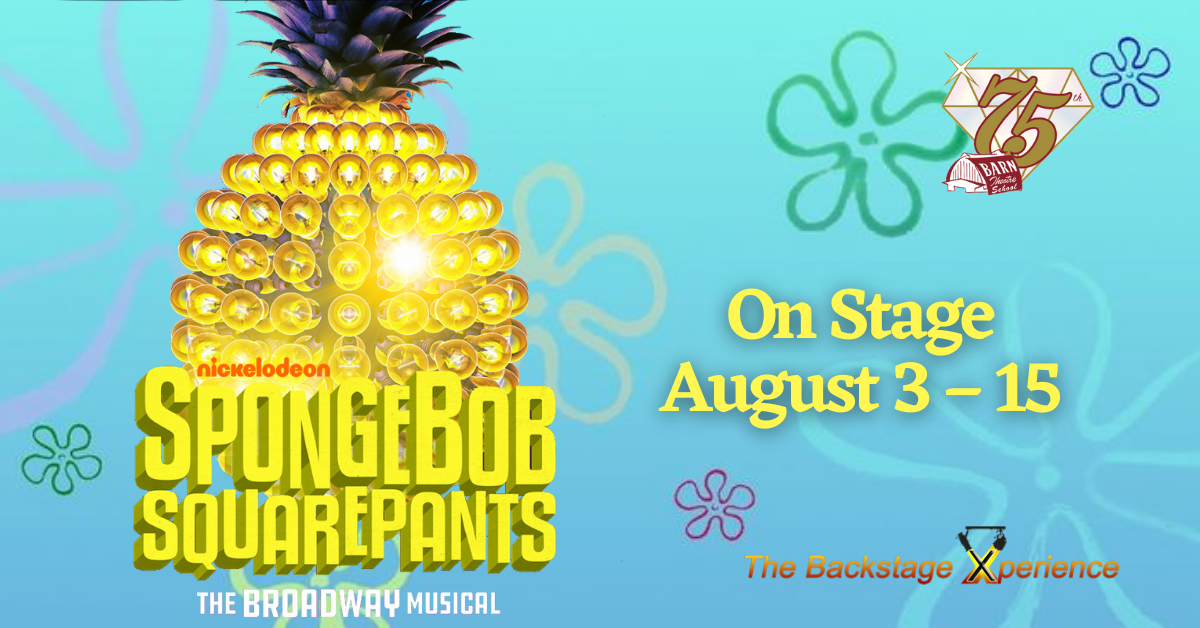 Spongebob Squarepants: The Broadway Musical from August 3 - 15, 2021 image