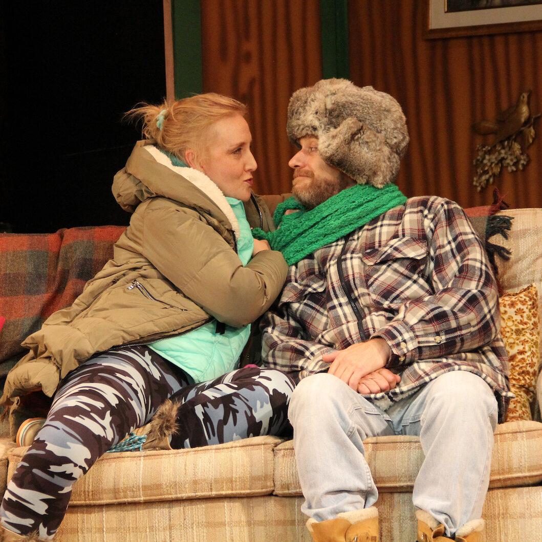 Melanie Wehrmacher_Joe Pehrson IN A SLIPPERY SLOPE - Barn Theatre School