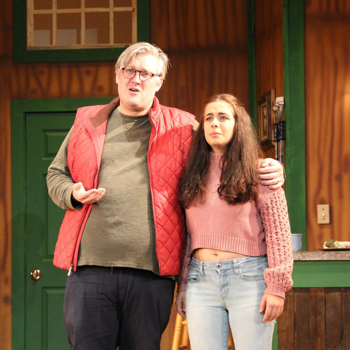 Patrick Hunter_Lexi Pinnata IN A SLIPPERY SLOPE - Barn Theatre School